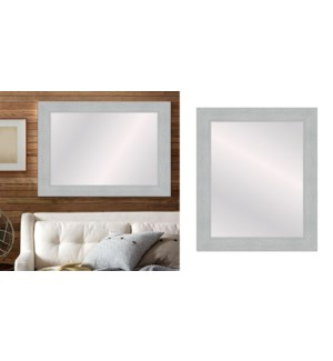 TEXTURED- Gris-24 x 36-MIRRORS