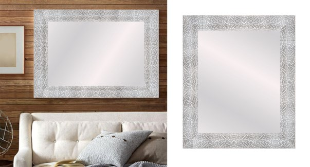 TEXTURED-Silver Gris-22 X 28-MIRRORS