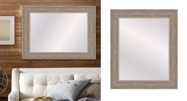 TEXTURED-LT WOOD-24 x 36-MIRRORS