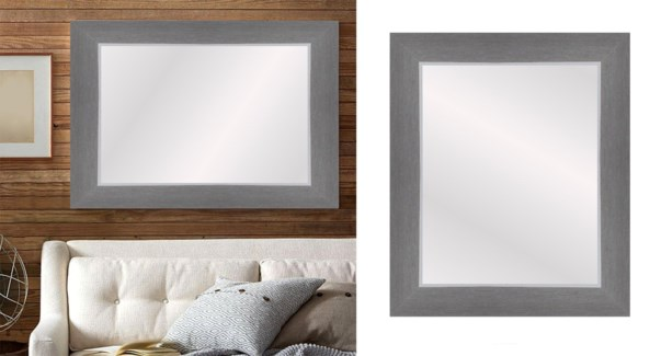 TEXTURED- LT Gris-24 x 36-MIRRORS