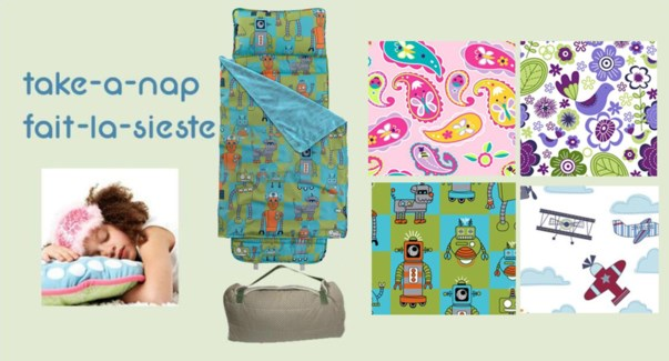 Assorted Take A Nap Mat and Blanket 8/bx 2X4 asst
