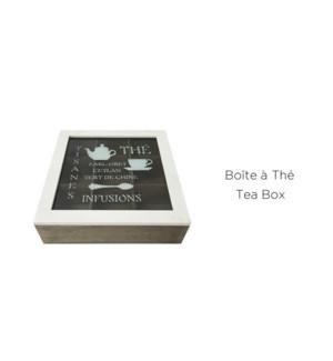 BoŒte … th' avec motif -24x24x7 - 8B
