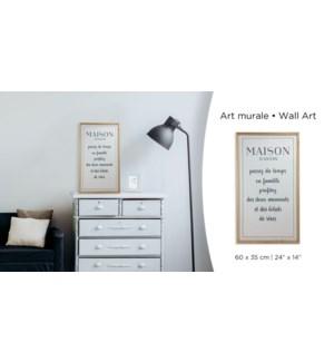 Maison Wall Art -60x35-8B