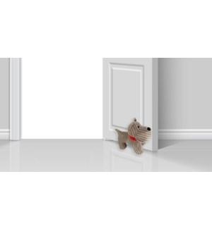 Butoir de porte pour chien nervur' -26x14x22 -6B