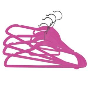 Velvet Hanger Pnk 42x23 4b