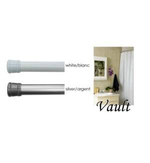 VAULT-POLE A RIDEAU DE DOUCHE EXTENSIBLE 22/25MM