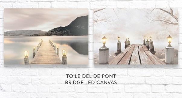 Pont LED Canvas 40x60 - 12B