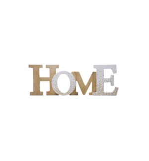 Wood Placque-Home-15x43,3x3-8B