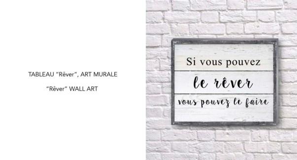 Art mural Rever 40x50-8B