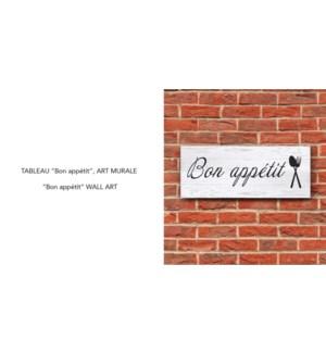 Art Mural Bon Appetit 60x24-8B