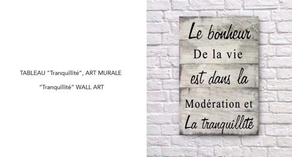 Art Mural Tranquillite 40x60-8B