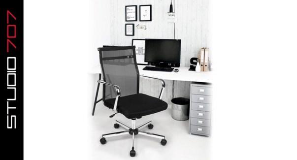 Office Chair Wakapua Blk