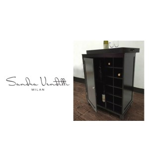 Wine Cabinet Dk Brown Wc-01