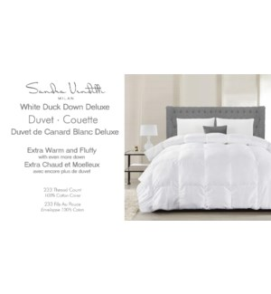WDD COUETTE DE LUXE BLANC TRES GRAND
