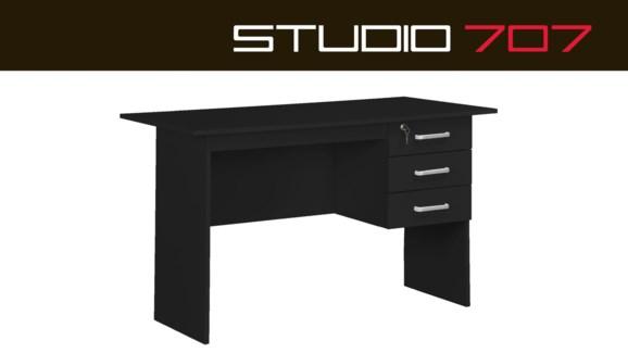 Watson Desk Black 120x60x74cm