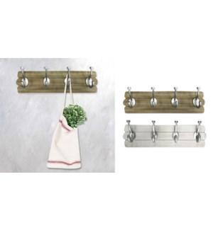 Wall Hooks 4 Set asst.- 45x6x12-8B
