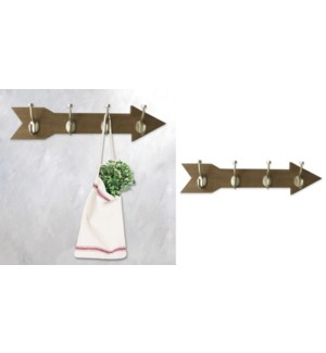 Arrow Wall Hook-BROWN-59x7x14-6B