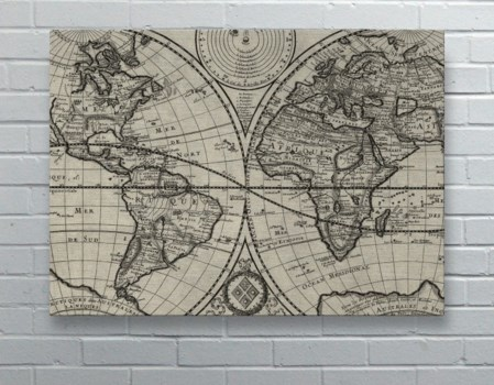 Old World Map-Maps and Historical