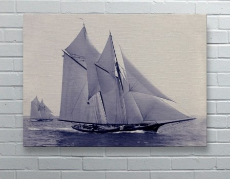 Sail Boat Navy -Coastal and Tropical