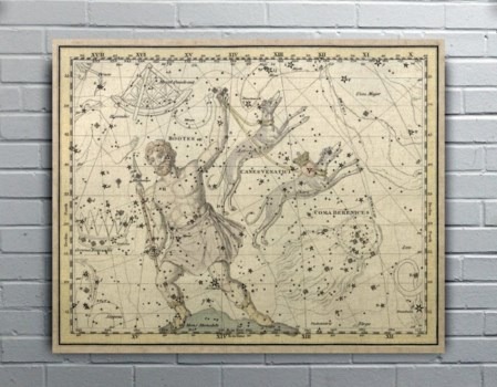Jamieson Canes Venatici-Maps and Historical
