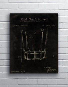 Barware Old Fashioned Glass-Fashion and Entertainment