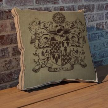 Sun Crest pillow -Design Elements