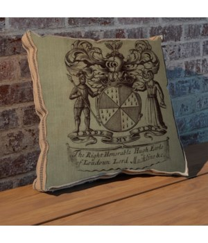 Knight Crest pillow
