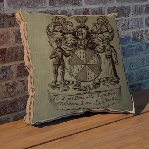 Knight Crest pillow-Decorative Elements