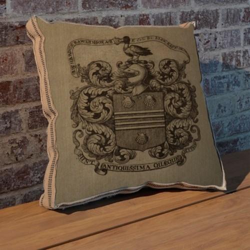 Duck Crest pillow-Decorative Elements