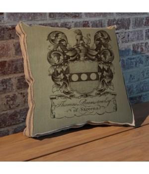 Lions Crest pillow