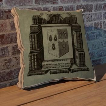 Study Crest pillow-Design Elements