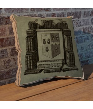 Study Crest pillow