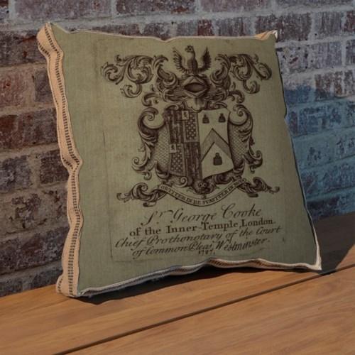Phoenix Crest pillow-Decorative Elements