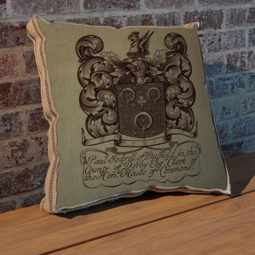 Phoenix Crest II pillow