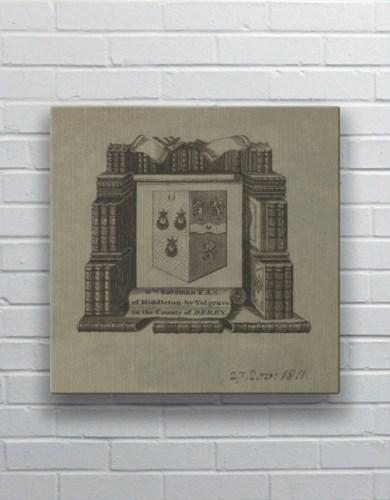 Study Crest -Decorative Elements
