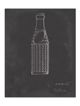 Vintage Soda Bottle II-color  -Fashion and Entertainment