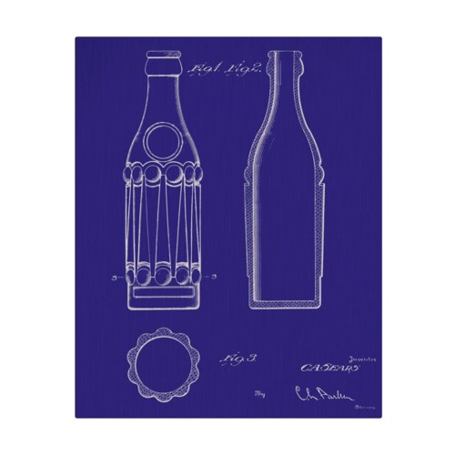 Vintage Soda Bottle III-color  -Fashion and Entertainment