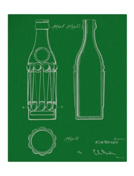 Vintage Soda Bottle IV-color -Fashion and Entertainment