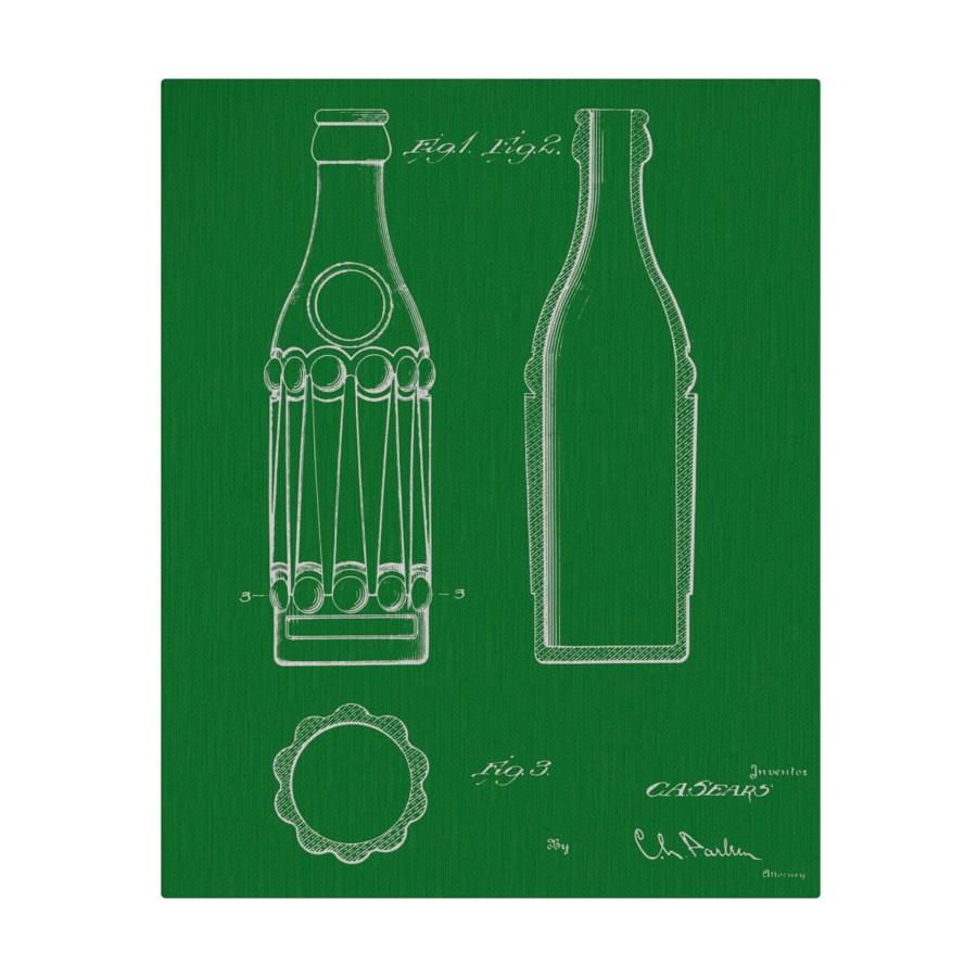 Vintage Soda Bottle IV color
