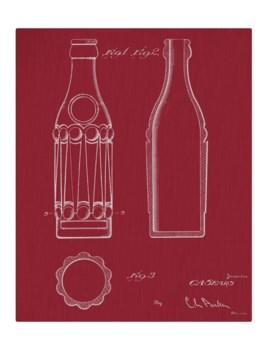 Vintage Soda Bottle V-color  -Fashion and Entertainment