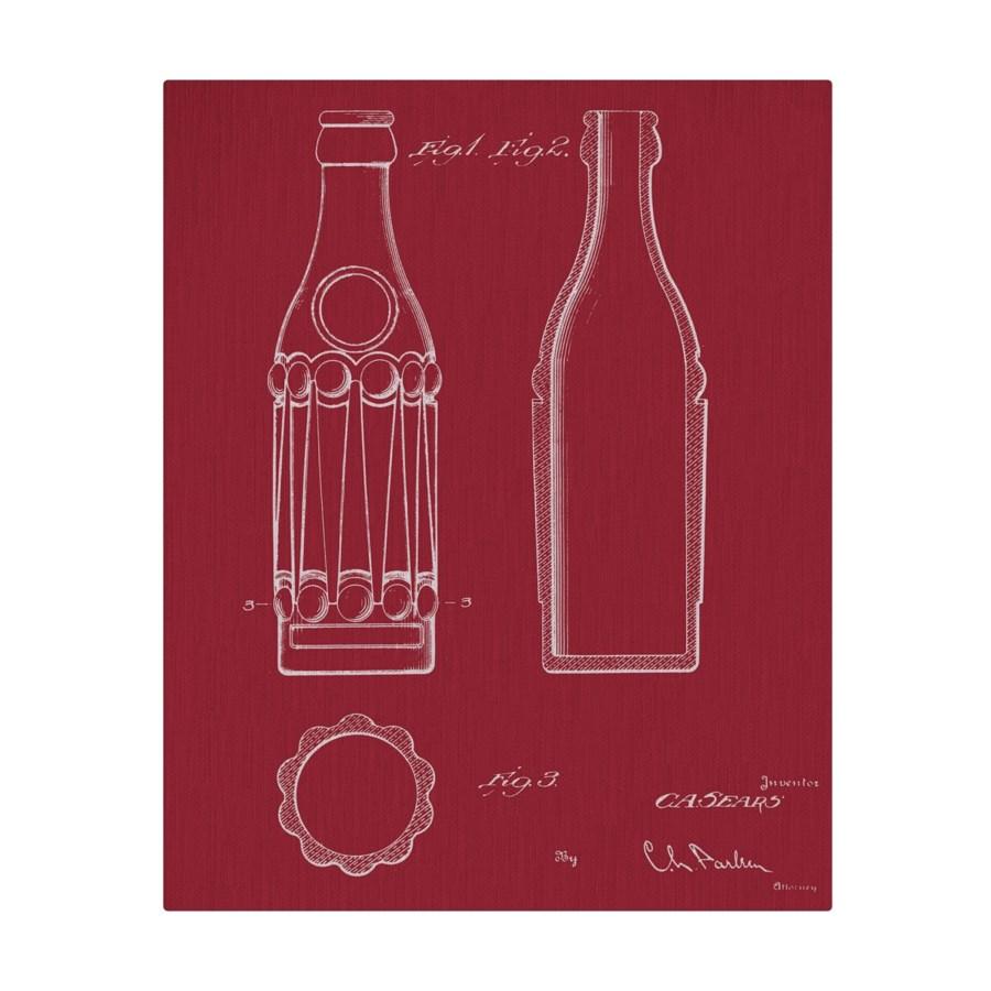 Vintage Soda Bottle V color