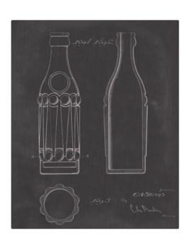 Vintage Soda Bottle VI-color  -Fashion and Entertainment