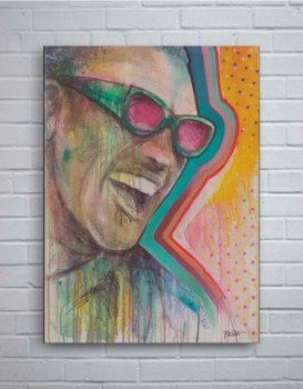 Ray Charles-Fashion and Figurative