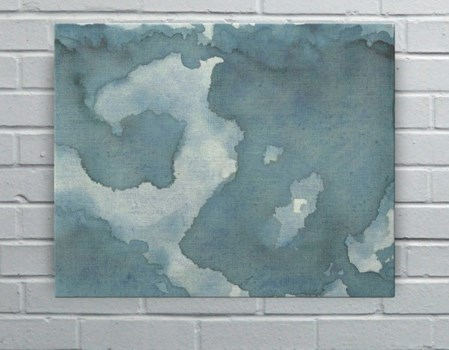 Indigo Bloom-Abstract