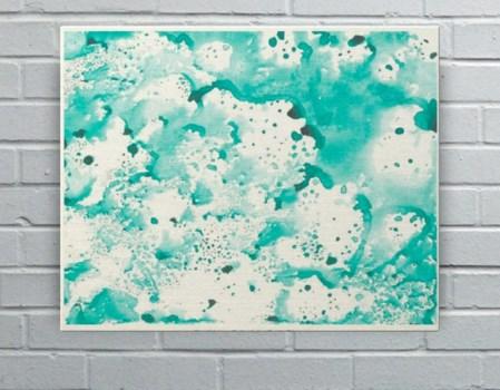 Caribbean Splash-Abstract