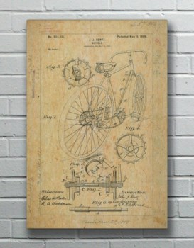 HENTZ BIKE PATENT Hemp Panel-Transportation and Travel