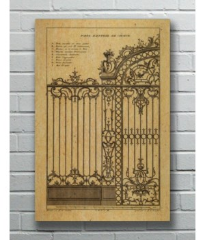 IRON GATE 02 Hemp Panel