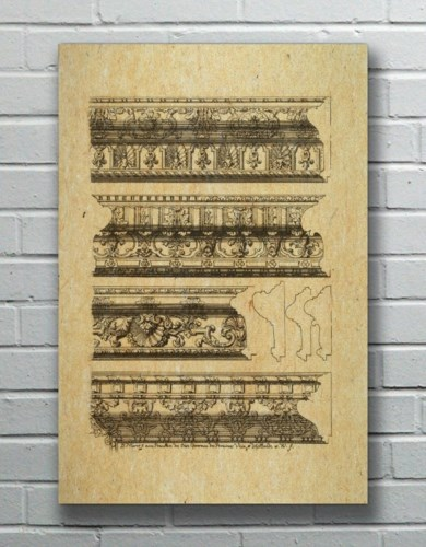 MOULDING Hemp Panel-Decorative Elements
