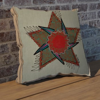 Alton Star pillow-Decorative Elements