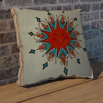 Alton Blue Sun pillow-Decorative Elements